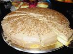 姑手製のバナナチョコケーキ