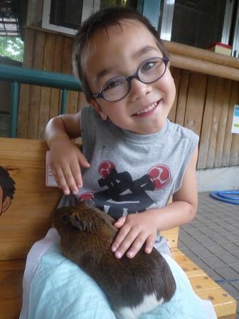 次郎とテンジクネズミ
