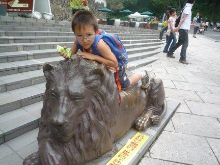 太郎とライオン