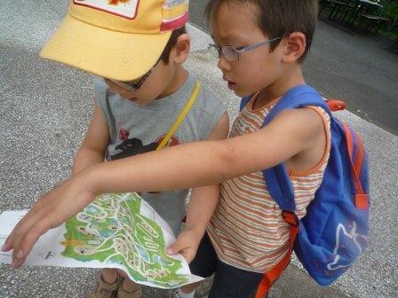 地図の練習