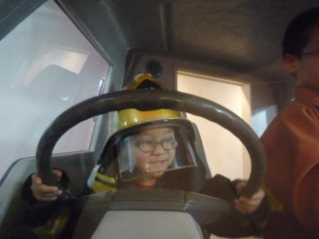 消防自動車の運転・次郎