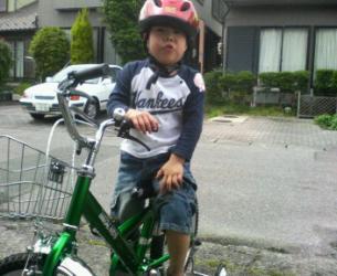 はっちゃん自転車プレ