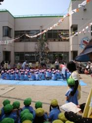 七夕祭り開会式