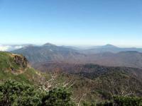 尾瀬方面の山々