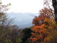 子持山山頂から榛名山