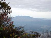 子持山山頂から武尊山