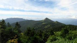 武尊山と笠ヶ岳