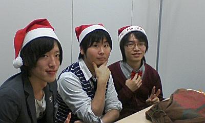 クリスマス3人組♪