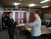 20090511人事委員会へ要望書提出