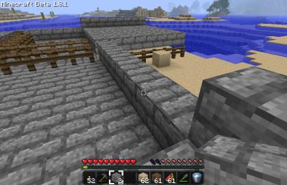 土台の建設