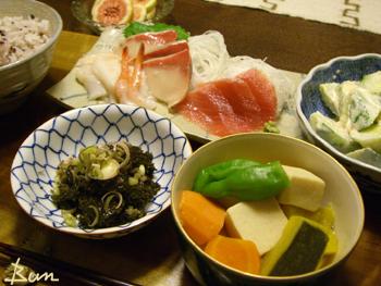 Sep11_若あらめと高野豆腐