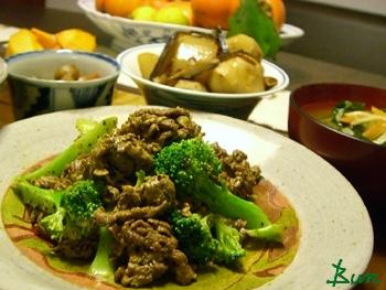 Nov11_牛肉とブロッコリーのマヨカレー炒め