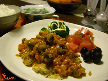 Jan13_トマトソースのせポークピカタ