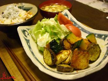 Apr06_さわらと野菜のカレー風味炒め
