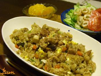 Apr24_生姜焼き風味の炒飯