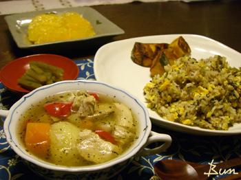 May01_鶏と野菜のコンソメスープ