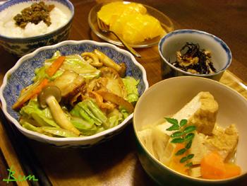 May22_帆立と野菜の味噌炒め