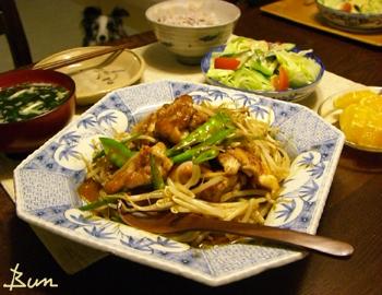 May28_鶏と野菜の味噌炒め
