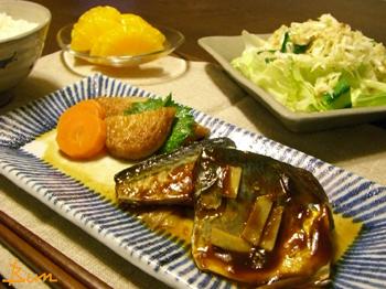 Jun23_鯖の味噌煮