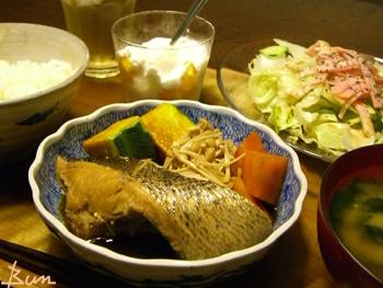 Jly06_すずき煮と野菜煮