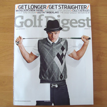 Golf Digest が届きました~!!