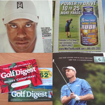 Golf Digest が届きました~