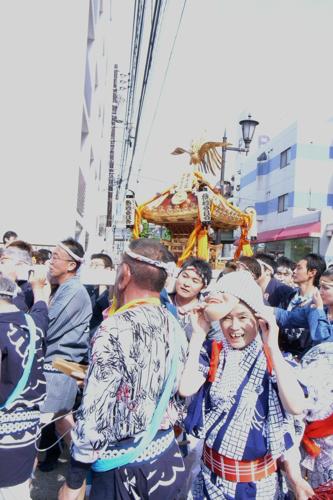 浦安三社祭1
