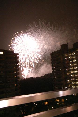 祭りの花火