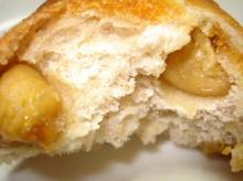 無花果のパン断面胡桃