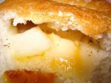 ポテトチーズ断面
