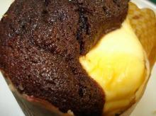 クリームチーズトップドチョコレート