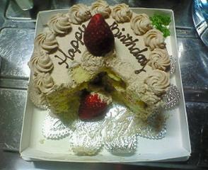 食べられたケーキ