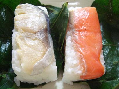 柿の葉寿司4