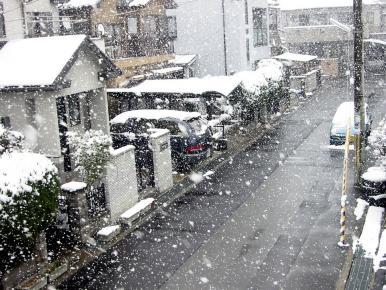 2003年1月 滋賀県草津 雪