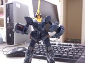 MG ユニコーンガンダム2号機 バンシィ(アニメ版)のテストショット1
