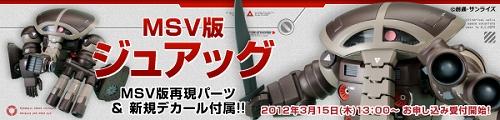 HGUC ジュアッグ(Ver.MSV)b
