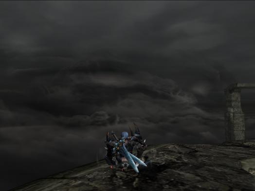 あの雲の向こうにラピュタが・・・