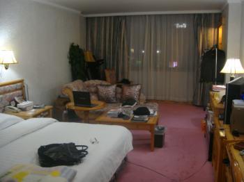 以前のホテルの部屋