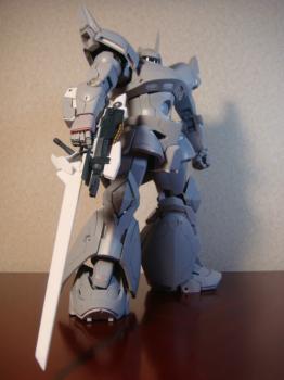 銃剣型ビームライフル装備