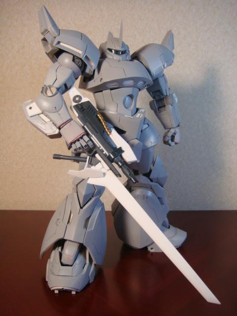 銃剣型ビームライフル・全体像