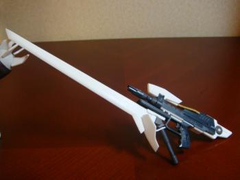 銃剣型ビームライフル1