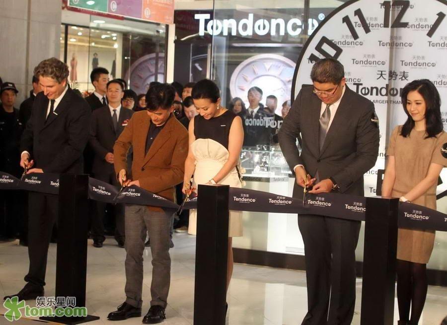 トニーさん@北京の時計店3