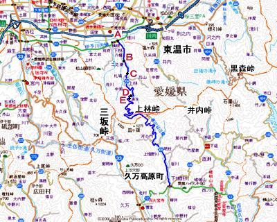 上林峠地図1