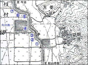七曲り地図1