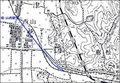 山西旧線地図2