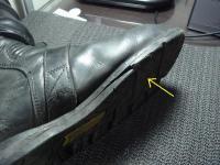 バイク ブーツ 装備