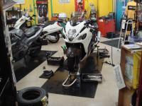 GSX1300R 整備 タイヤ