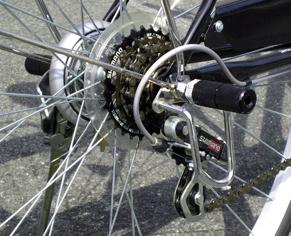 自転車・ギアガード