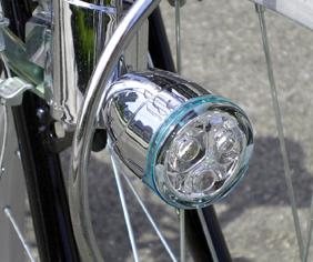 自転車・LED