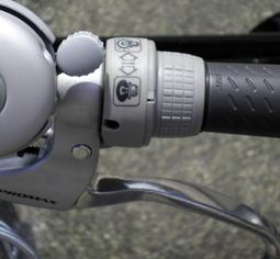 自転車・ライトスイッチ